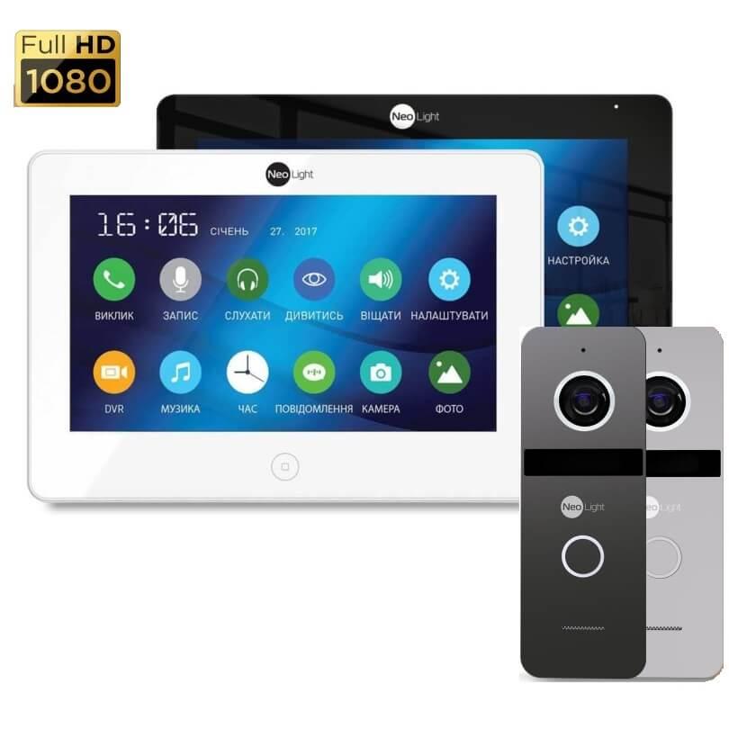 Комплект видеодомофона NeoLight Alpha HD + NeoLight SOLO FHD