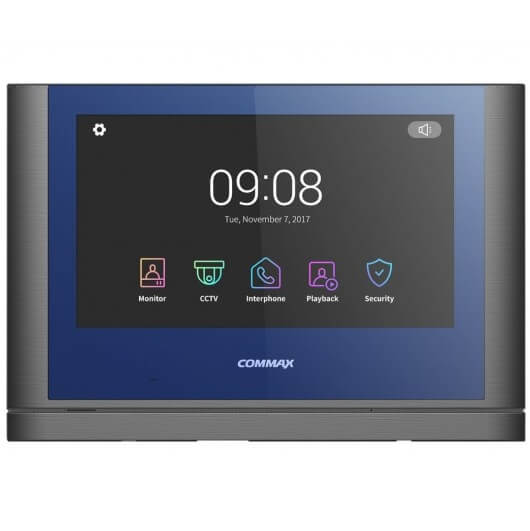 Видеодомофон Commax CDV-1024MA blue+grey