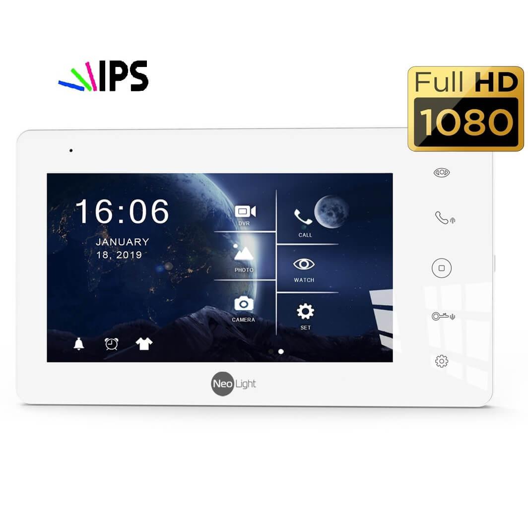 Домофоном NeoLight c IPS технологией дисплея NeoLight ZETA+ HD и SIGMA+ HD