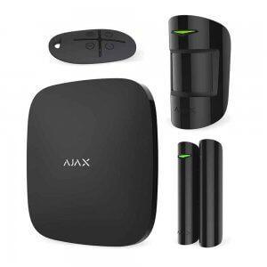 Комплект сигнализации Ajax StarterKit (черный)