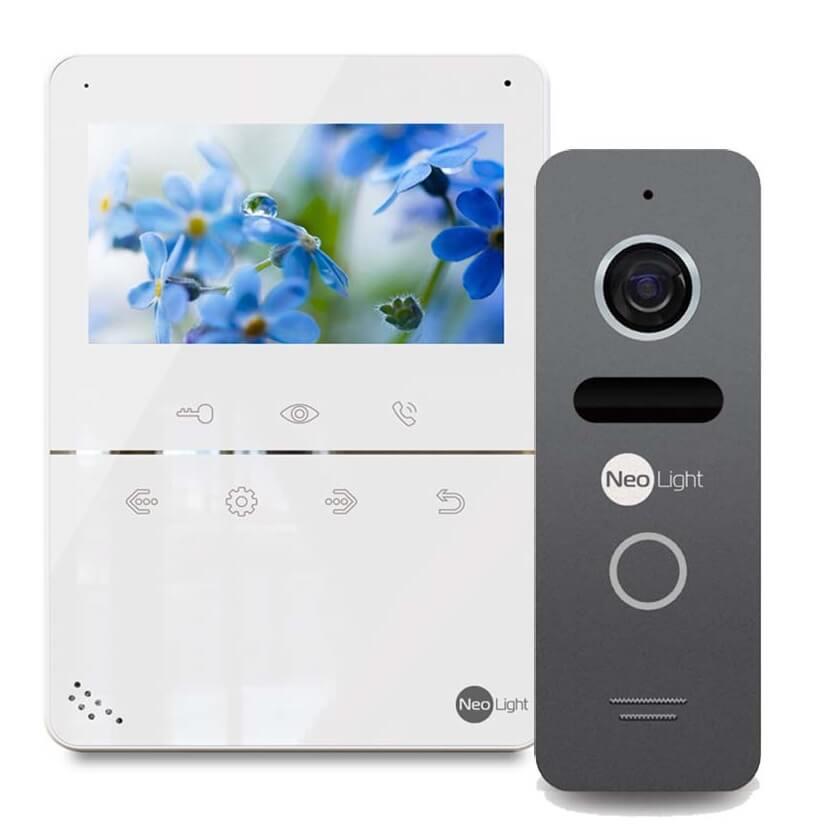 Комплект видеодомофона  NeoLight Tetta и Neolight Solo
