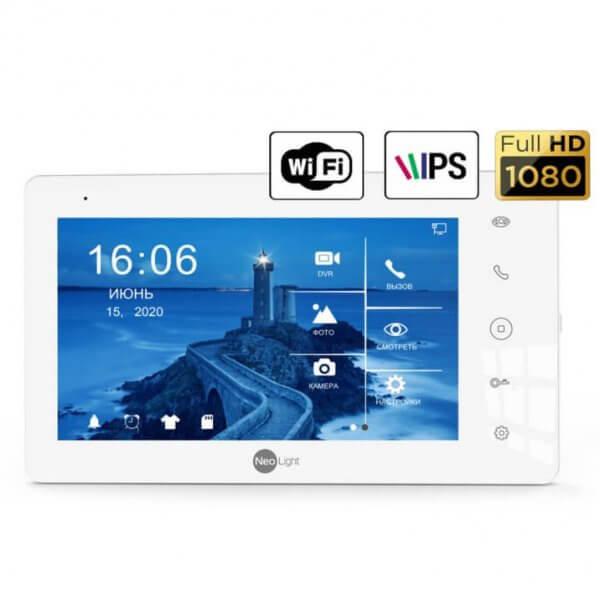 Видеодомофон NeoLight ZETA+ HD WF (white)