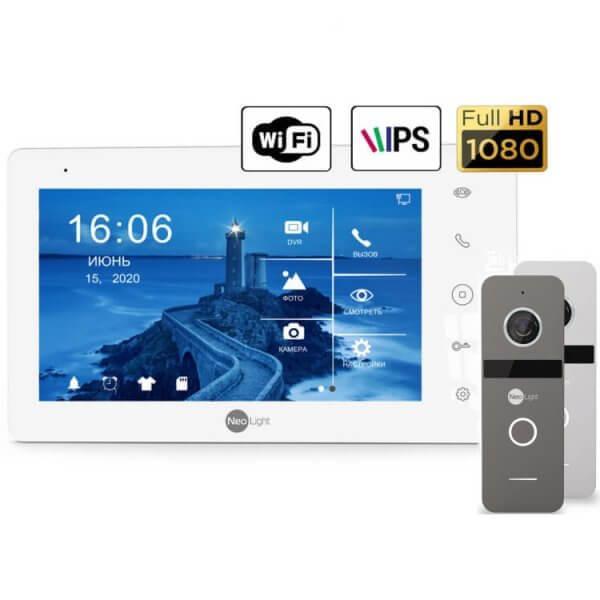 Комплект домофона NeoKIT HD + WF Graphite