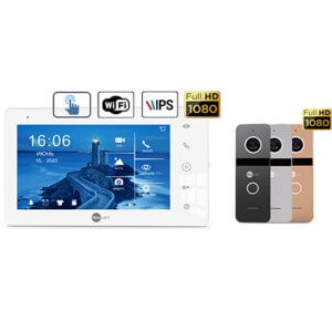 Комплект домофона NeoKIT HD Pro WF