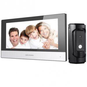 Комплект IP домофона Hikvision DS-KC001+ DS-KB8112-IM 1.3МП